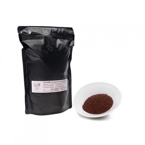 Chocolate en polvo con Panela